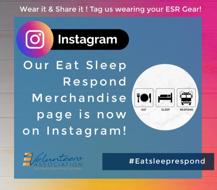 Follow us on Instagram - Keep up to date with our Eat Sleep Respond Apparel