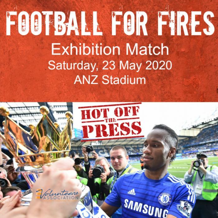 Football for Fires Exhibition Match, 23 May 2020 ANZ Stadium