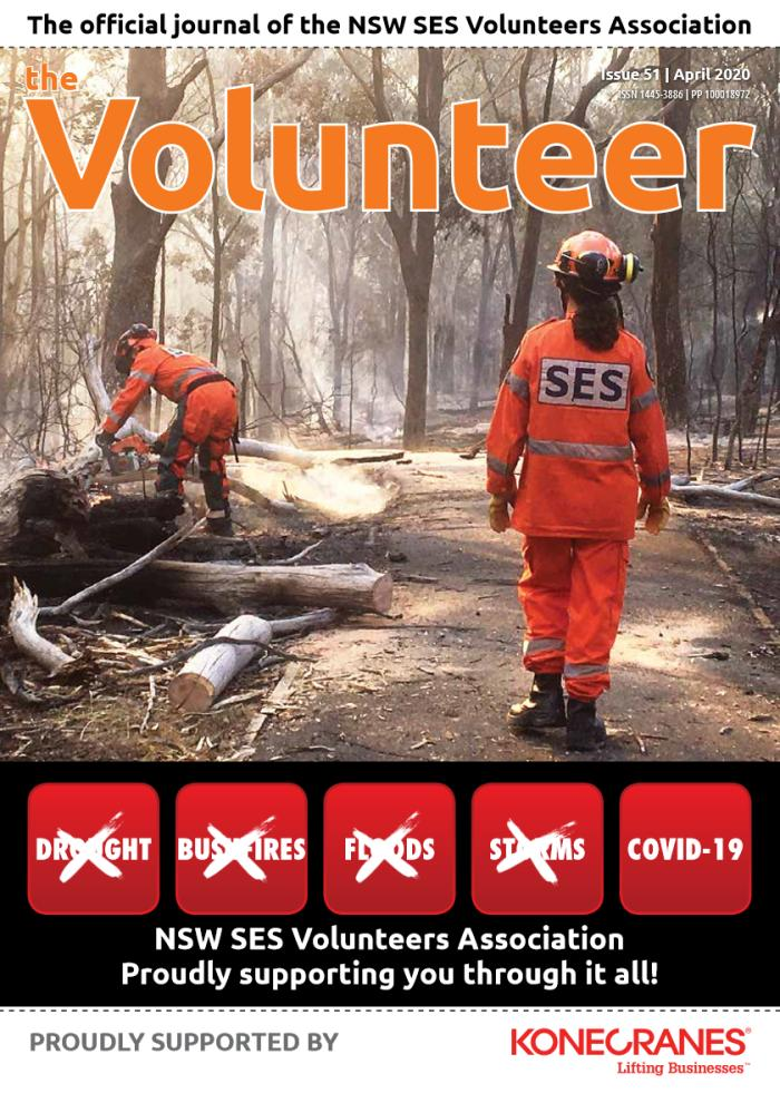 April 2020 Edition of The Volunteer is now onlne!