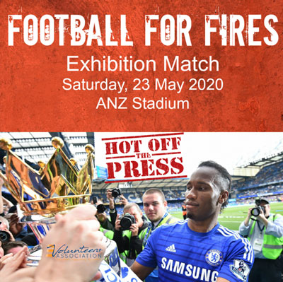 Football for Fires - Exhibition Match 23 May 2020